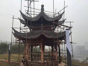 宝兴县灵关镇古塔修建工程