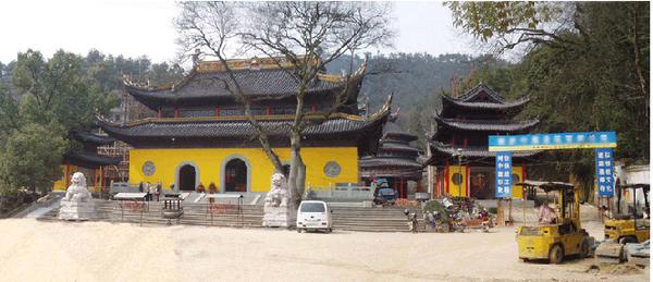灵关寺古建筑工程